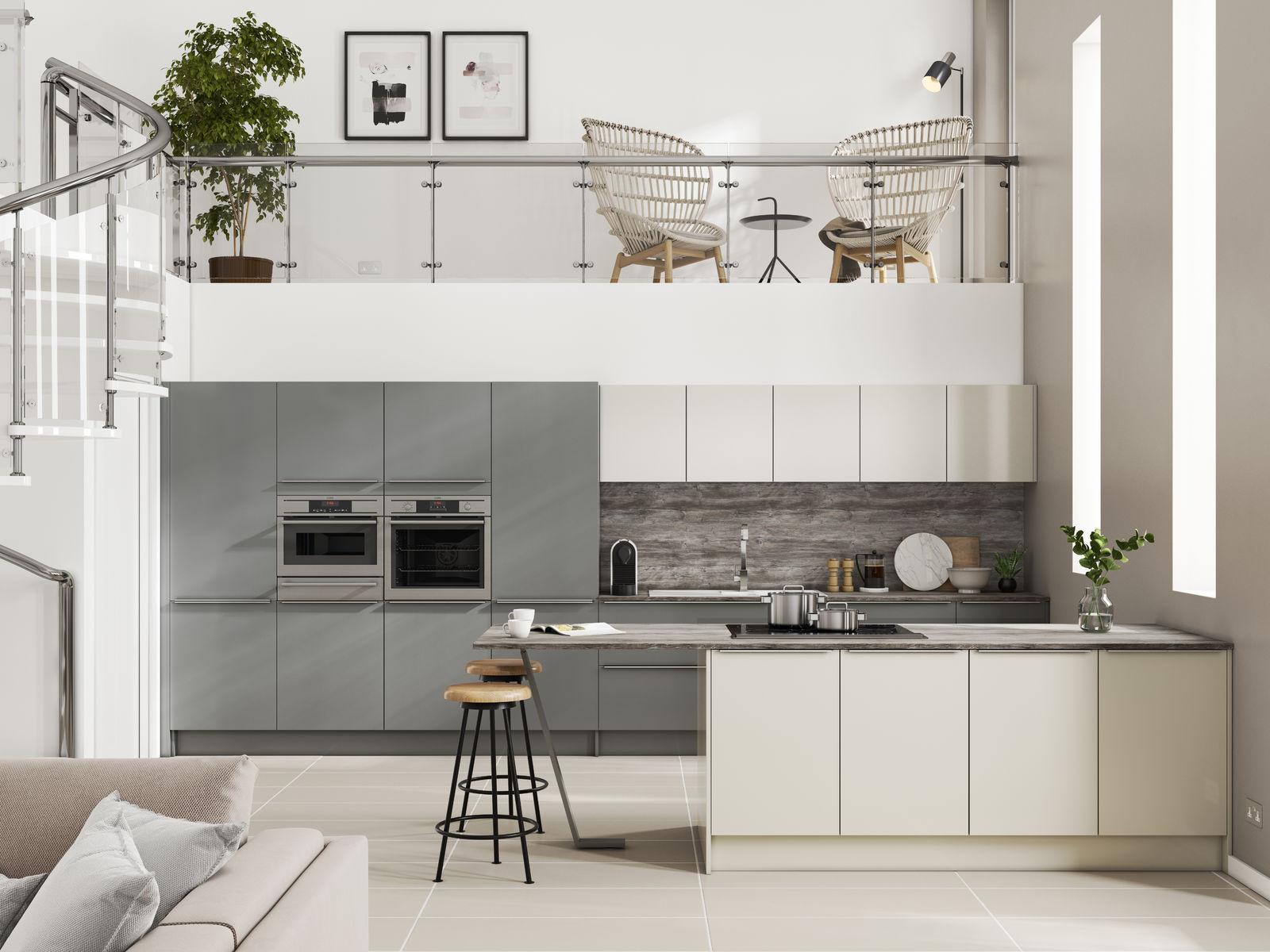Inline Alta Gloss Dusk Grey & Pearl Grey