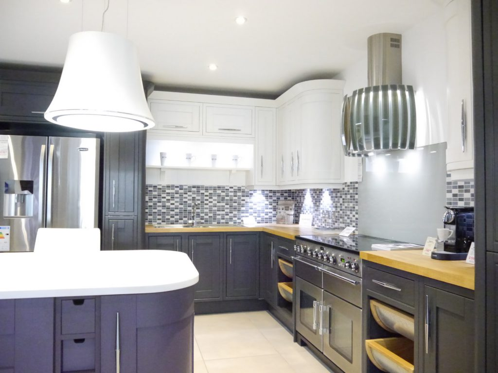 Laura Ashley Linton and Harwood kitchen